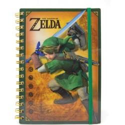 Cuaderno Lenticular Zelda
