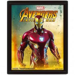 Cuadro 3D Marvel Iron Man