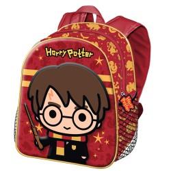 Mochila 3D Harry Potter Roja