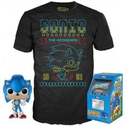 Pop+Camiseta Sonic