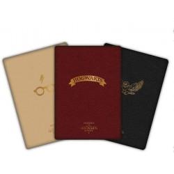 Set 3 Libretas Harry Potter