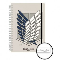 Cuaderno A5 Attack on Titan