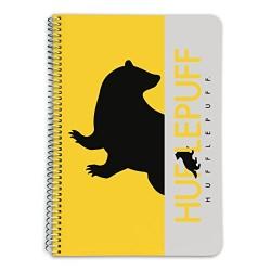 Cuaderno A5 HP Hufflepuff