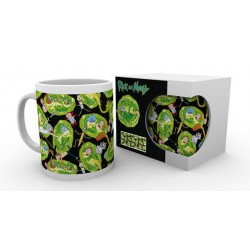 Taza RM Rick and Morty Portals