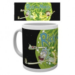 Taza RM Rick and Morty Logo