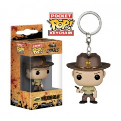 Llavero Funko Pop! The Walking Dead - Rick Grimes